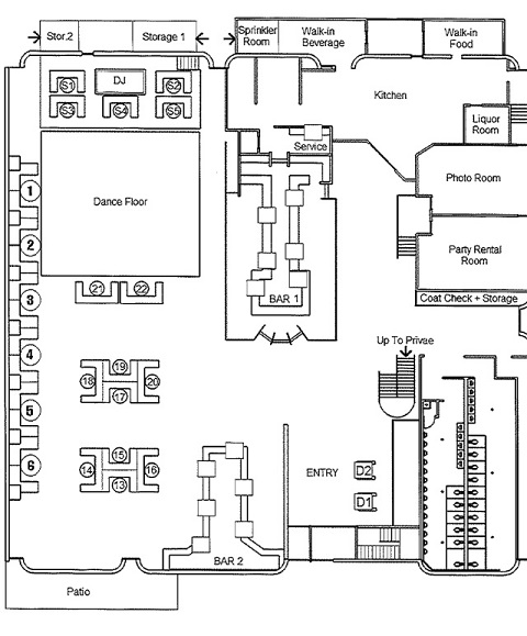 house of blues floor plan house plan